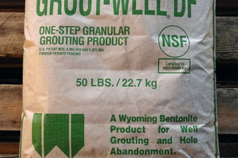 Grout-Well and Grout-Well DF